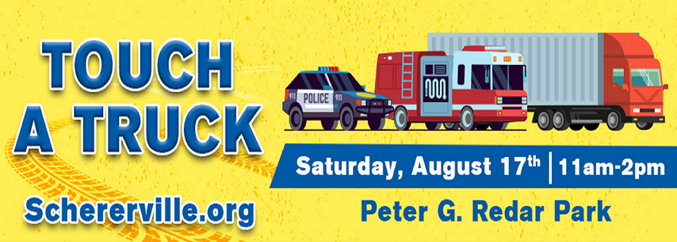 2019 Touch A Truck Saturday August 17 11am-2pm at Redar Park
