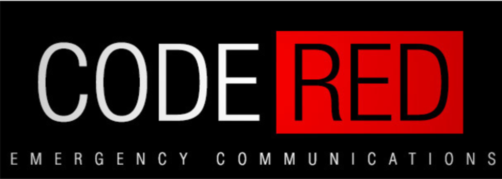 Code Red Emergency Alert System banner