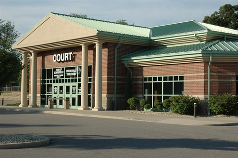 Front of Schererville Court Building